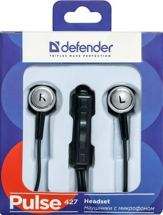 Гарнитура Defender Pulse 427 Black (63427)