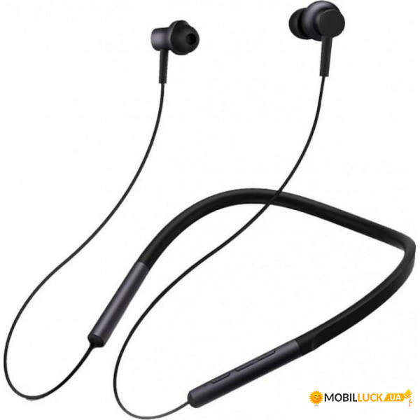Наушники Xiaomi Mi Bluetooth Neckband Earphones Black (ZBW4426GL)