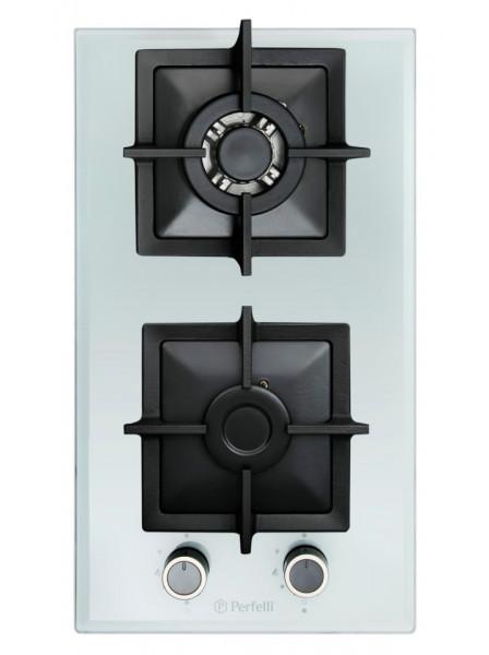 Поверхность газовая домино Perfelli HGG 31683 WH