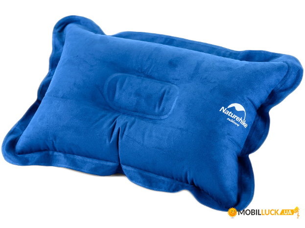 Надувная подушка Square Comfortable Pillow visa blue (NH15A001-L)