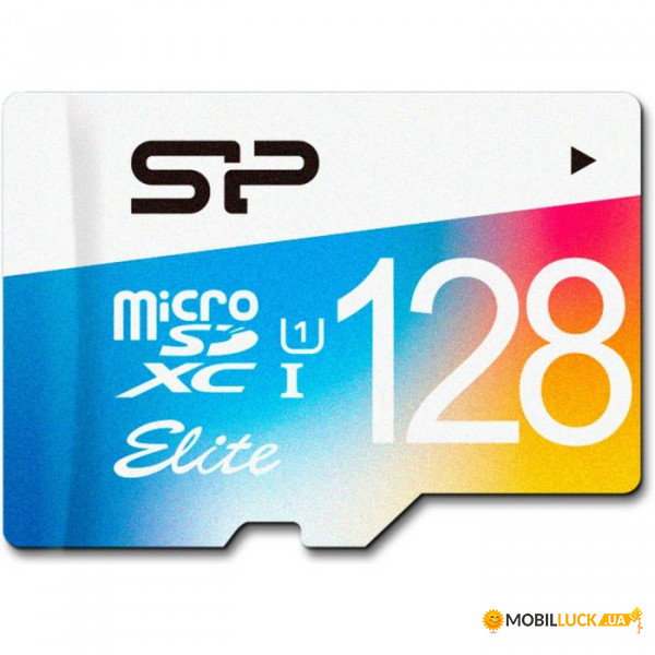 Карта памяти Silicon Power microSDXC 128GB Class 10 UHS| no adapter Color (SP128GBSTXBU1V20)