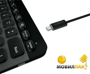 Клавиатура беспроводная Logitech Illuminated K810 BT (920-004322)