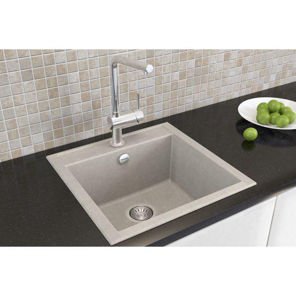 Кухонная мойка Terranit Brauns 50 Grey/Beige (11153022)