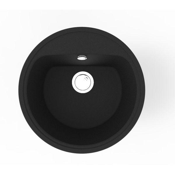Кухонная мойка Terranit Salina Black (11153021)