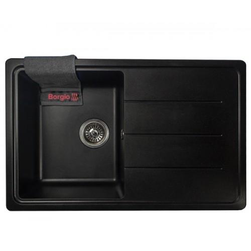 Мойка кухонная Borgio PRC-780x500 Черный