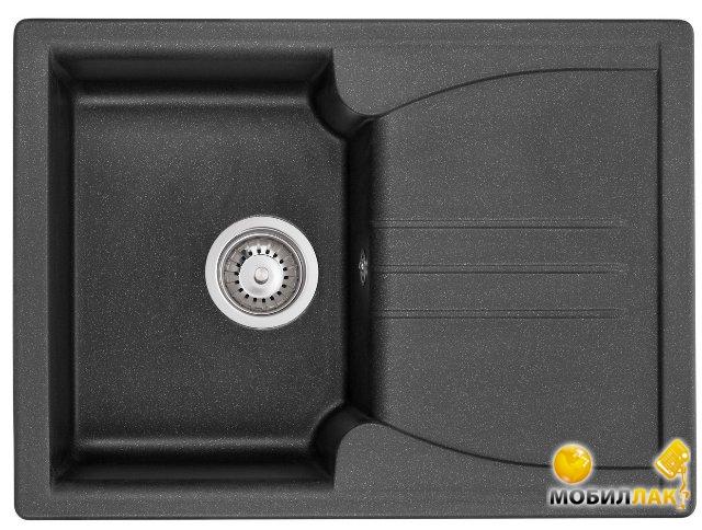 Мойка Granado Salamanka black shine 680x500mm