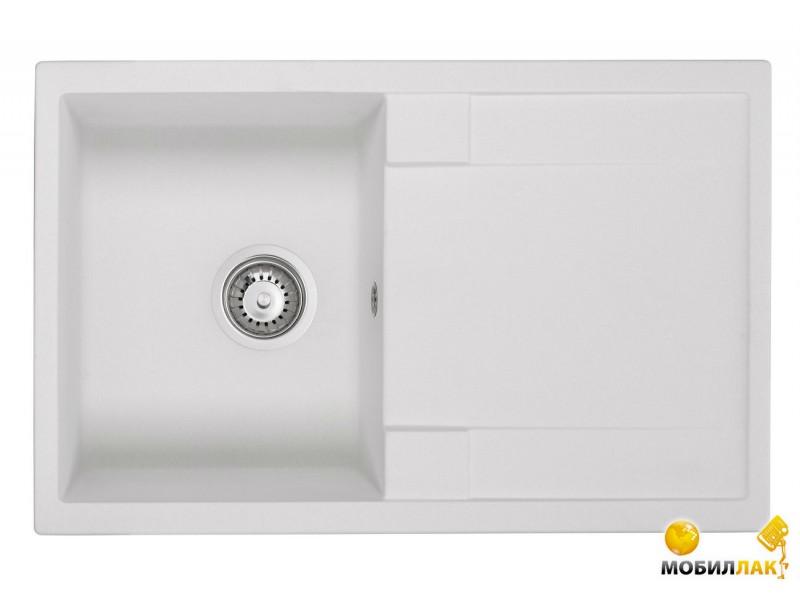 Мойка Granado Vigo white 775x495mm