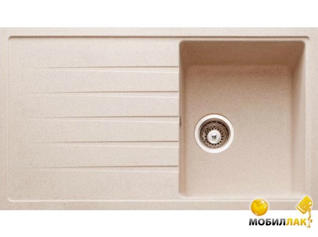 Кухонная мойка Longran AMG 860.500 - 38 Terra (с сифоном)