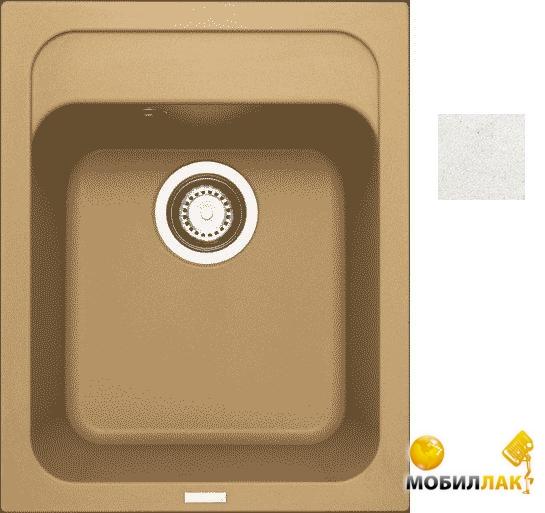 Кухонная мойка Longran CLS 400.500 - 07 Alpina (с сифоном)