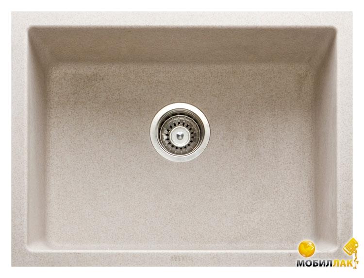 Кухонная мойка Longran CLS 600.450-58 Sabbia (с сифоном)