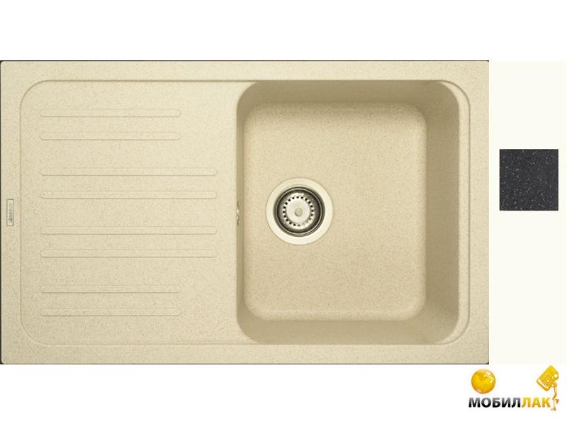 Кухонная мойка Longran CLS 740.460 - 40 Lava (с сифоном)