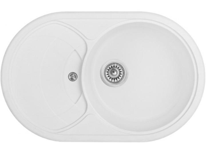 Кухонная мойка Longran CLS 780.500 - 07 Alpina (с сифоном)