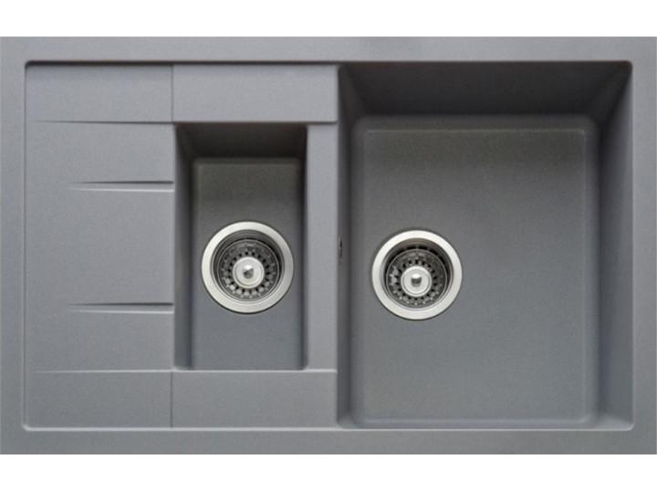 Кухонная мойка Longran CLS 780.500 - 10 Onyx (с сифоном)
