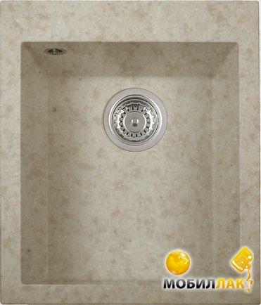 Кухонная мойка Longran CUG 410.500 - 58 Sabbia (с сифоном)