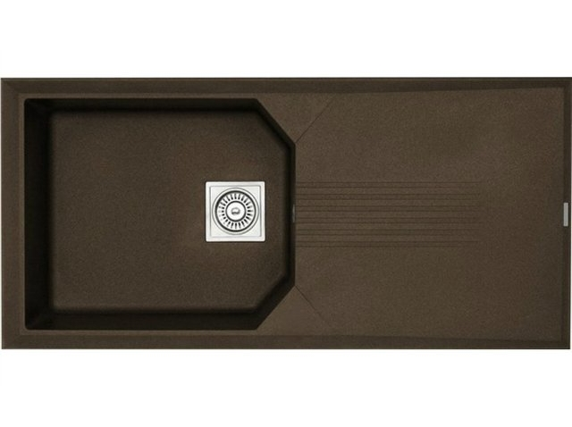 Кухонная мойка Longran Helix 1.0B Chocolate Metallic (с сифоном)