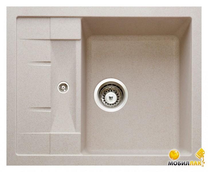Кухонная мойка Longran ULS 615.500-58 Sabbia (с сифоном)