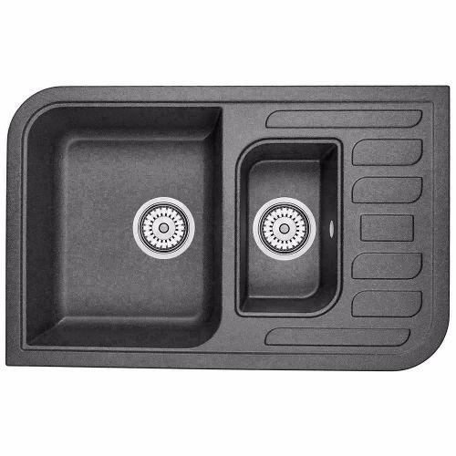 Мойка кухонная Minola MРG 5360-78 Черный