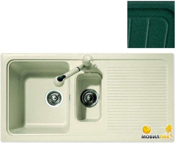 Кухонная мойка Telma DO09910 - 36 green