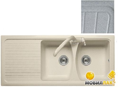 Кухонная мойка Telma DO11620 - 37 pearl grey