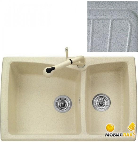 Кухонная мойка Telma HR0792 - 37 pearl grey