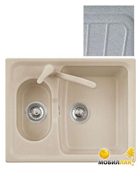 Кухонная мойка Telma HR6151 - 37 pearl grey