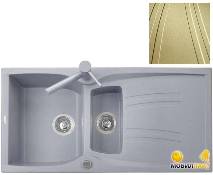 Кухонная мойка Telma NK09910 - 79 gold