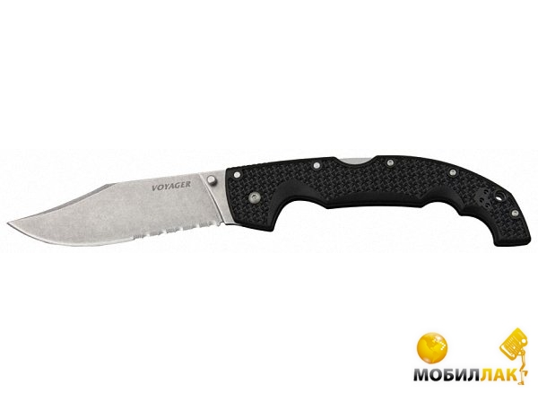 Нож Cold Steel Voyager Lg.Clip Point Serrated (29TLCCS)