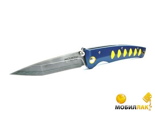 Нож MCUSTA Katana (алюминий синий/желтый) (MC-0042C)