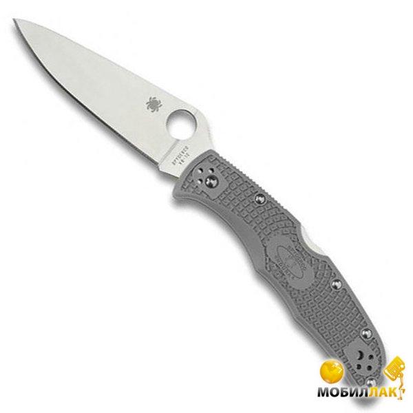 Нож Spyderco Endura 4 FRN серый (C10FPGY)