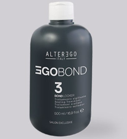 Комплект Alter Ego Egobond 1 Bond Booster 250 мл vs. 2 Bond Setter 500 мл vs. 3 Bond Locker 500 мл vs. дозатор