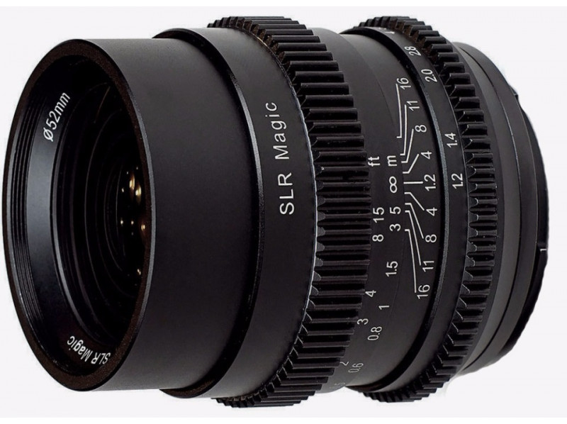 Объектив SLR Magic Cine 35mm f/1.2 FE for Sony E