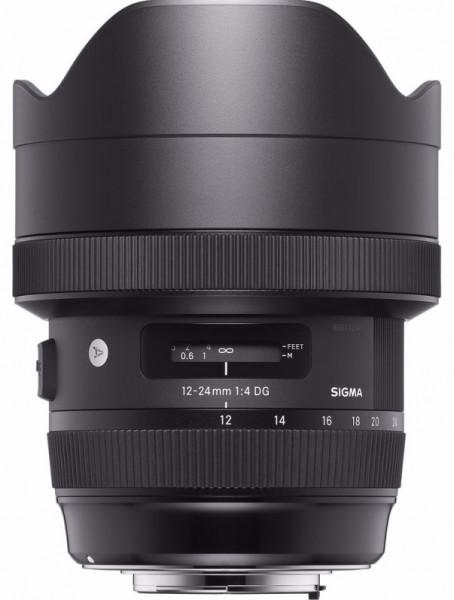 Объектив Sigma AF 12-24mm f/4 DG HSM Art for Canon