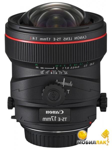 Объектив Canon TS-E 17mm f/4.0L