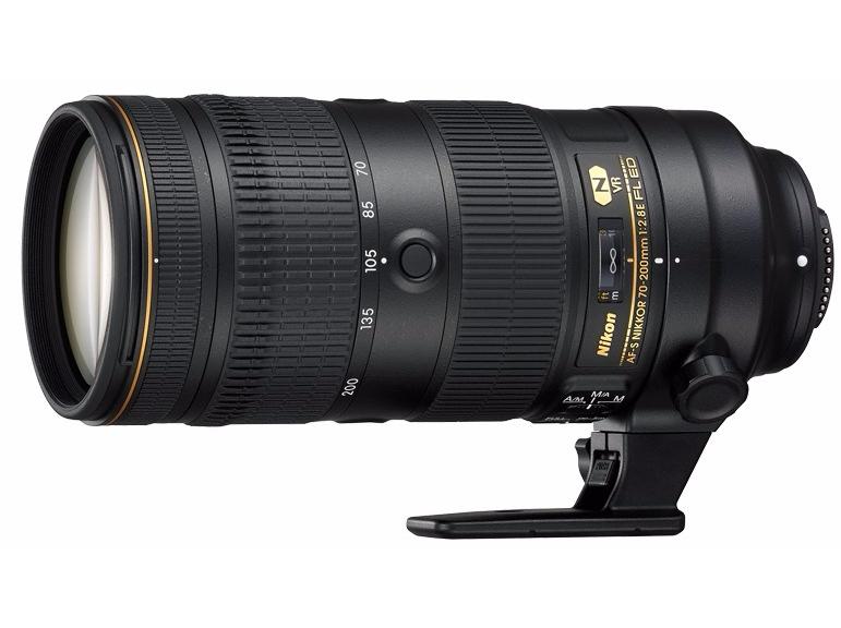 Объектив Nikon AF-S 70-200 mm f/2.8E FL ED VR