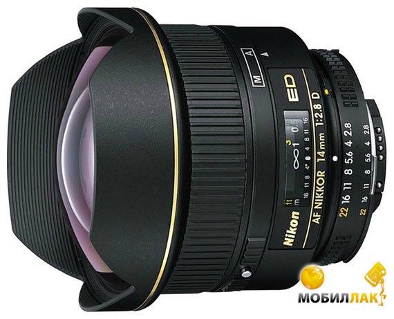 Объектив Nikon AF 14mm f/2.8D ED