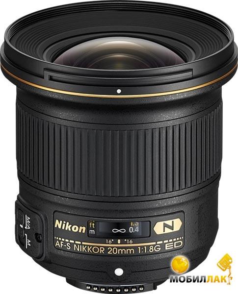 Объектив Nikon ED AF-S 20mm f/1.8G (JAA138DA)