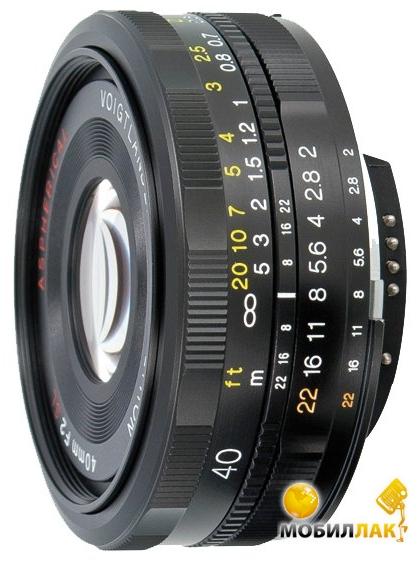 Объектив Voigtlander 40mm F/2.0 SL-II ULTRON - NIKON