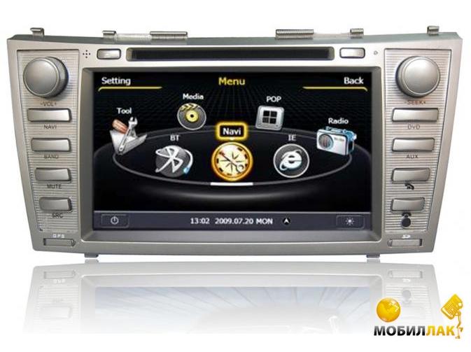 Штатная магнитола EasyGo S003 Toyota Camry 40 2005-2011