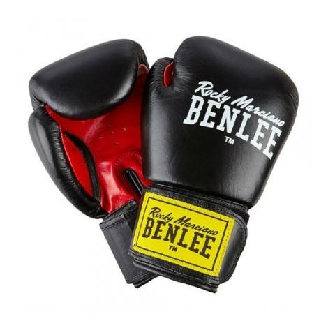 Перчатки боксерские Benlee Fighter р.14 194006 / 1503 Черный/Красный