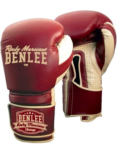 Перчатки боксерские Benlee Graziano р.14 199104 / 2025 Бордовый