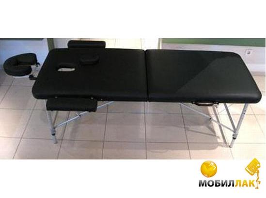 Массажный стол 2-х секционный HouseFit HY-2010-1.3 (алюмин. рама)