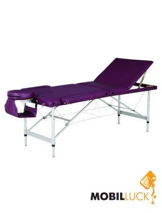 Массажный стол 3-х секционный HouseFit HY-3381 (алюмин. рама)