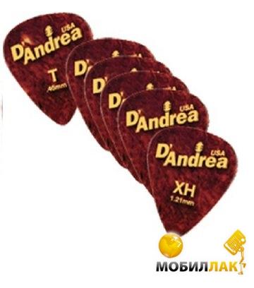 Медиаторы D'andrea 11-351 Gauged 351 SHL 432 шт.