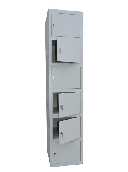 Шкаф ячеечный Ferocon  НЯ-16-01-04х18х05-7035