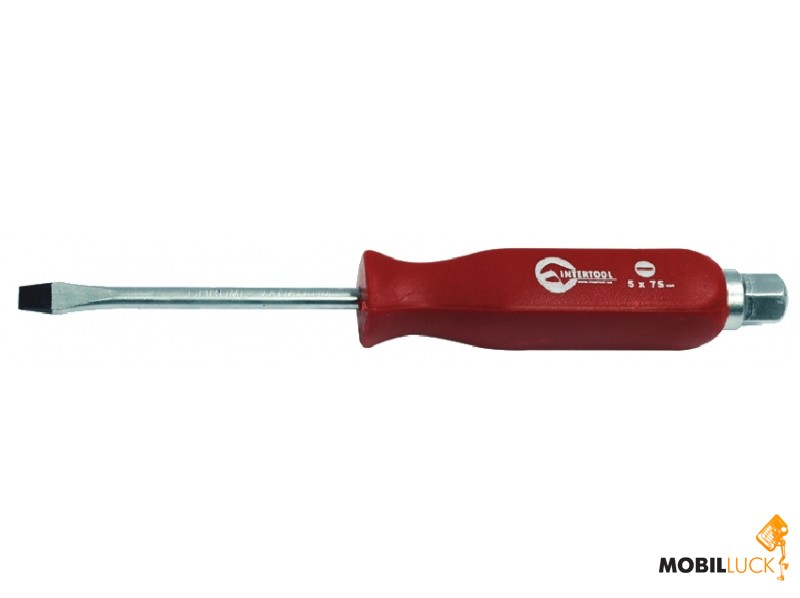 Отвертка ударная SL6*125 мм Intertool HT-0483
