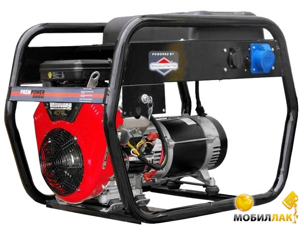 Бензиновый генератор AGT EAG 8000