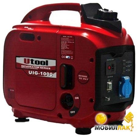 Бензиновый генератор инверторного типа Utool UIG-1000