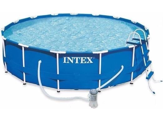 Каркасный бассейн Intex Metal Frame Pool (28218/28718)