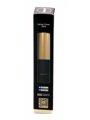 Внешний аккумулятор Power Bank Remax Lip Max RPL-12 Power Box 2400 mAh Gold