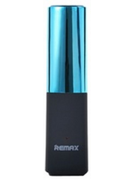 Внешний аккумулятор Power Bank Remax Lip Max RPL-12 Power Box 2400 mAh Blue